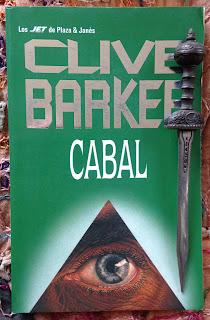 Portada del libro Cabal, de Clive Barker
