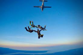 Focus On Sky Diving