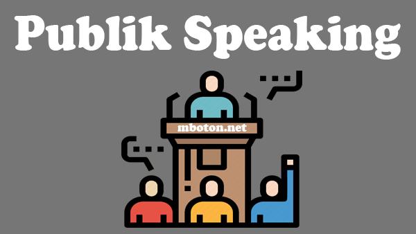 Skill yang paling utama untuk semua orang, meskipun tidak merasa memiliki public speaking anda harus mempunyai skill yang wajib anda harus kuasai skill ini
