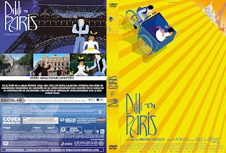 DILILI EN PARIS 2018 [COVER DVD+BLU-RAY]