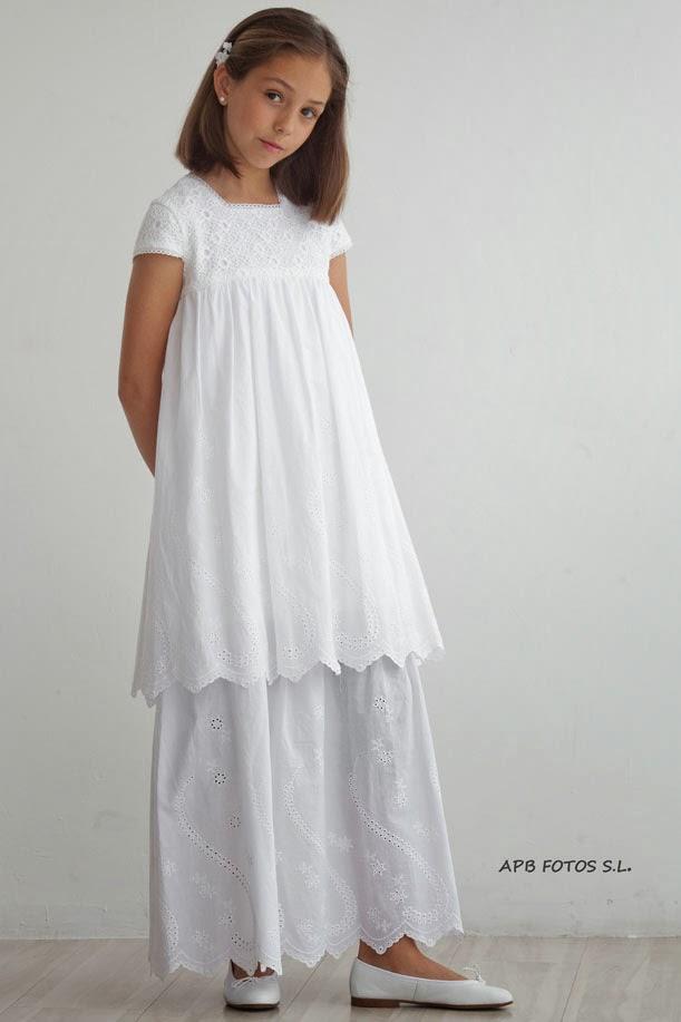 Teresa Palazuelo vestido de comunión para niña