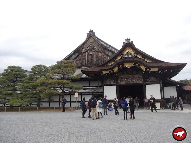 Entrée principal du château de Nijo