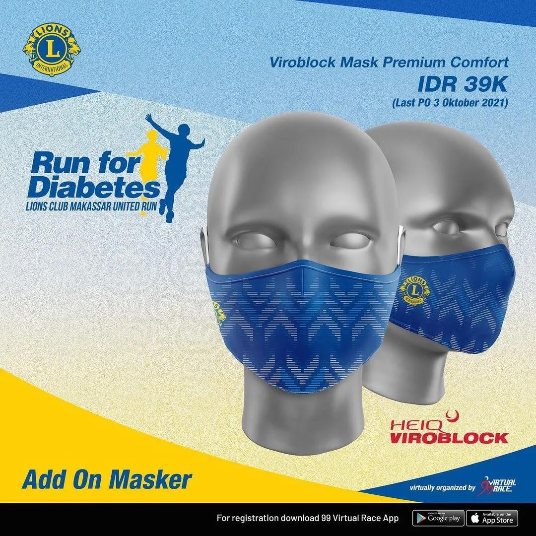 Masker 😷 Run for Diabetes • 2021