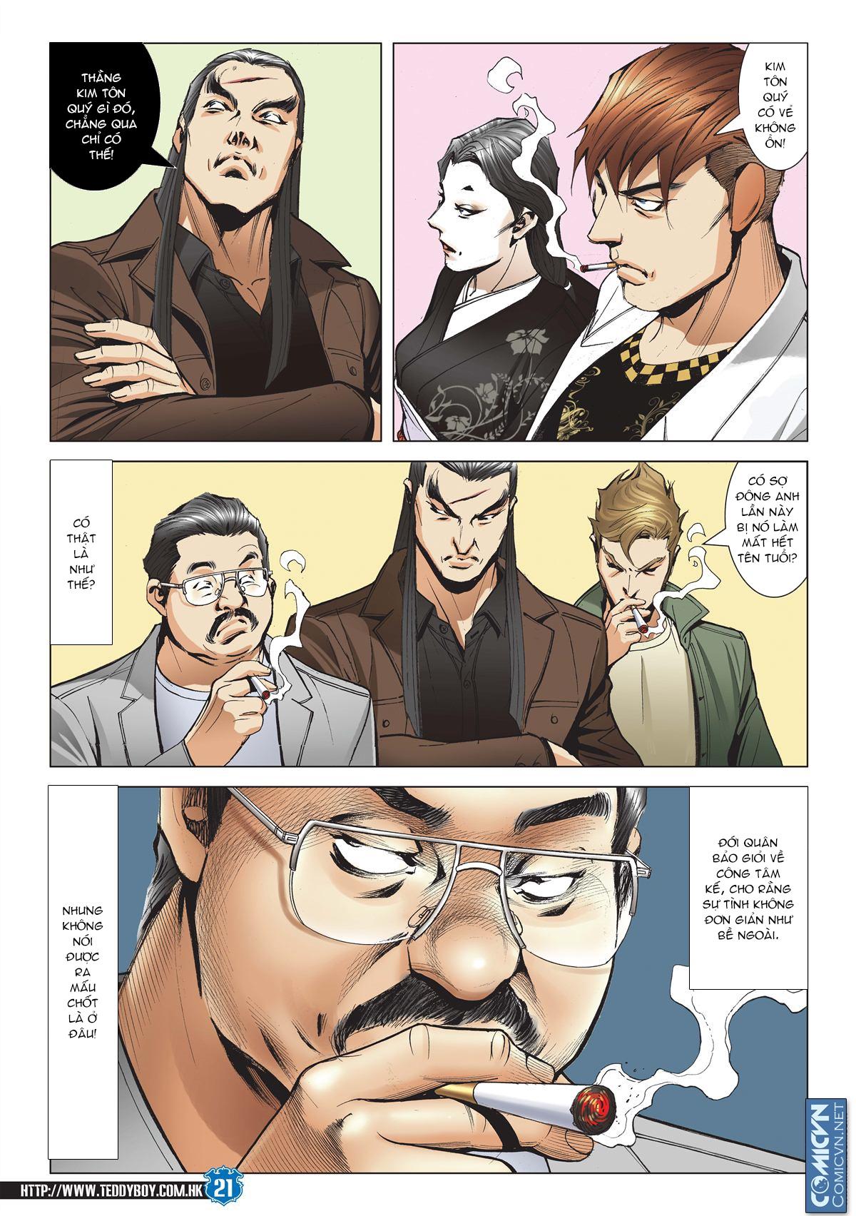 Người Trong Giang Hồ chapter 1971: đại phi ác chiến kim tôn quý 2 trang 18