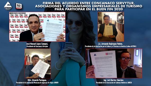 El Buen Fin permitirá la reactivación del mercado turístico en México.