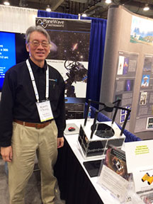 Palmia Observatory Resident Astronomer meets with Randy Chung of www.spacefab.us