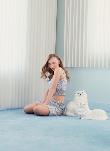 Lily-Rose Depp sexy model in V Magazine Photoshoot Issue #116