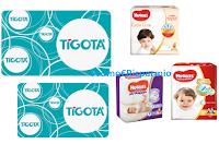 Logo Concorso ''Huggies ti premia'': vinci 550 Gift Card Tigotà da 25€ (richiedi anche un campione gratuito)