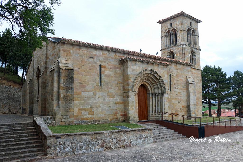 Iglesia de Santa Cecilia de Aguilar de Campoo