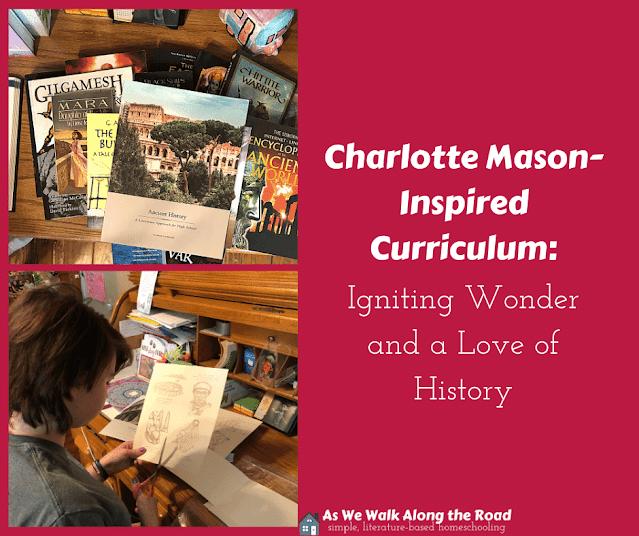 Charlotte Mason-inspired history
