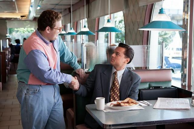 Leonardo DiCaprio bromea con Jonah Hill y lo asusta