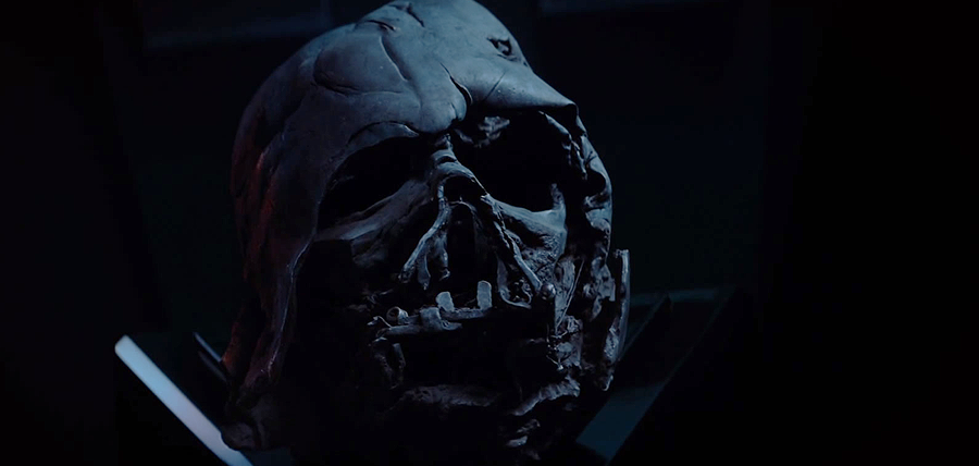 Star Wars: The Force Awakens Trailer: Masca lui Darth Vader