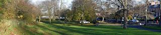 Brandling Park, Newcastle upon Tyne. November 2020