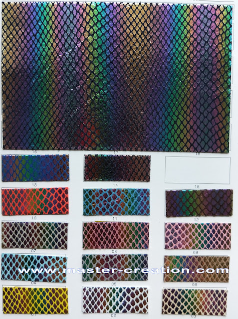 holographic scales fabric