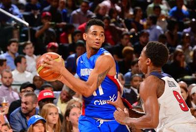 Resultado de imagem para victor liz republica dominicana basquete