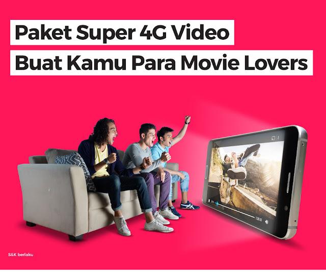 paket akses video dari Smartfren