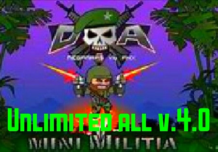 Mini militia unlimited all