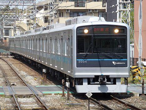 小田急電鉄 急行 藤沢行き 3000形