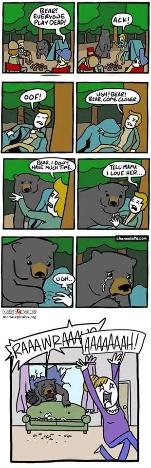 Bear! Play Dead!