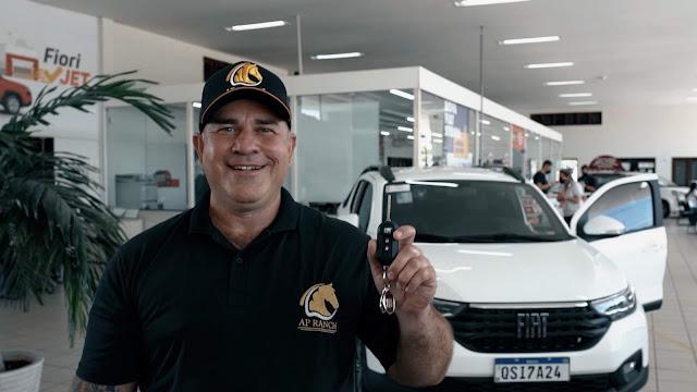 Nova Fiat Strada 1º exemplar vendido foi Patos, Paraíba