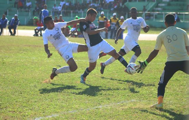 Moca FC gana de visitante a los Delfines