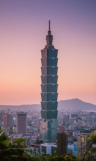 Taipei 101 in Xinyi, Taipei, Taiwan