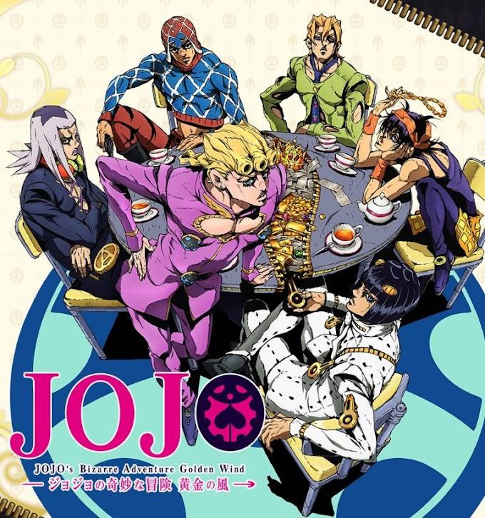 JoJo no Kimyou na Bouken: Ougon no Kaze(Golden Wind) (TV) Legendado Completo Download 720p!