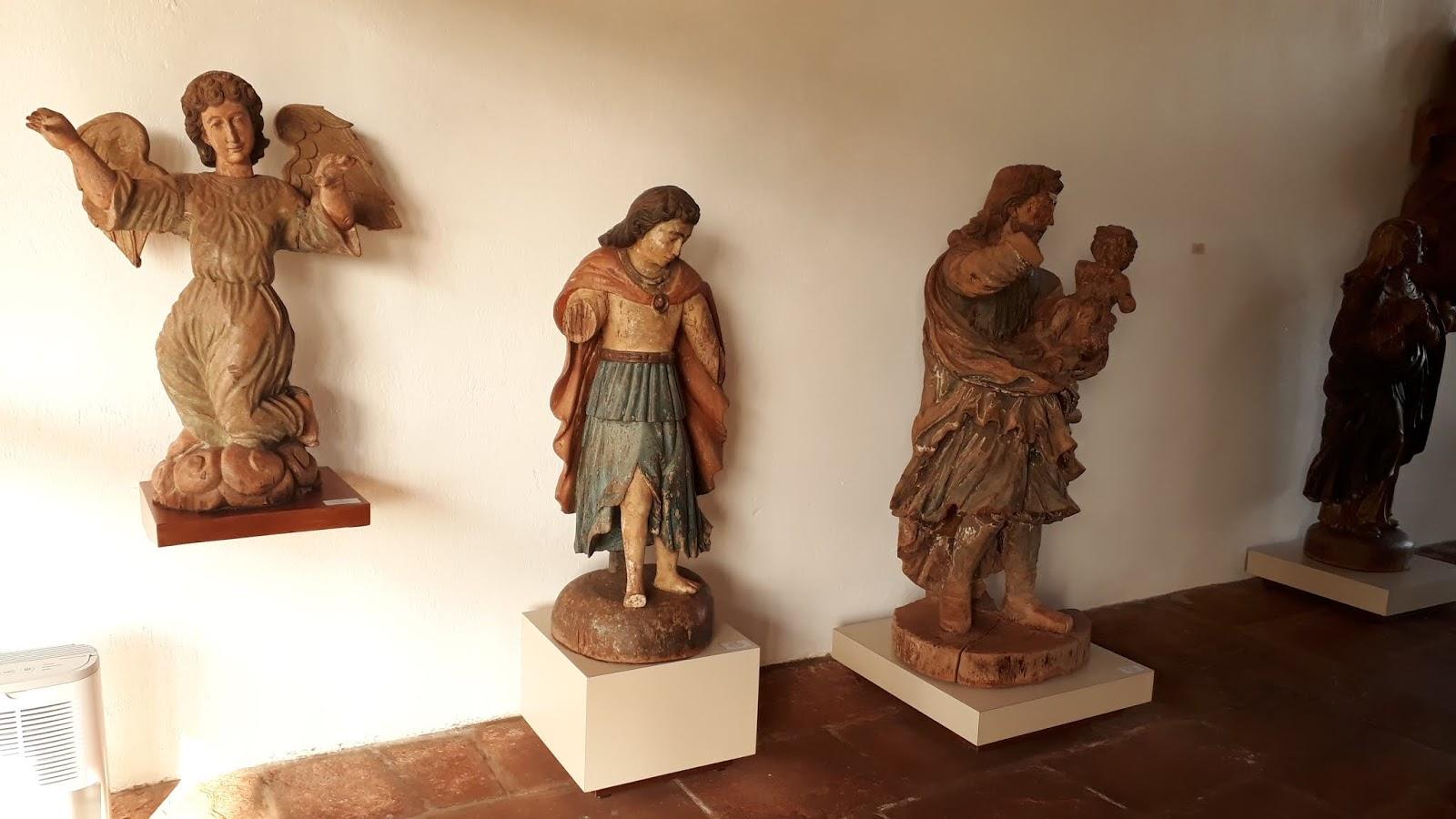Acervo interno do Museu das Missões Jesuíticas