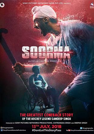 Soorma 2018 Full Hindi Movie Download HDRip 720p ESub