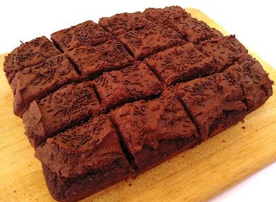 bizcocho De Chocolate Con Frosting {receta Vegana Y Sin Gluten}