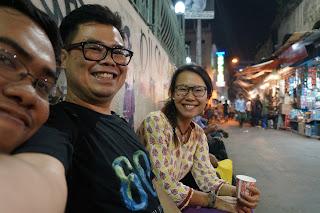 Makan Malam terakhir di Kolkata, India