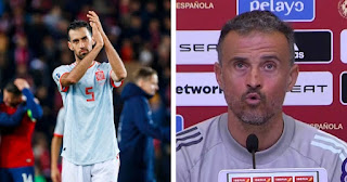 Luis Enrique promise to take Barcelona Sergio Busquets to Euros but on one condition