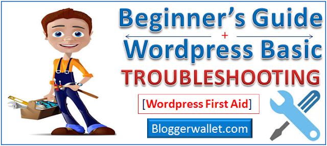 Basic Troubleshooting For All Wordpress Error (First Aid)
