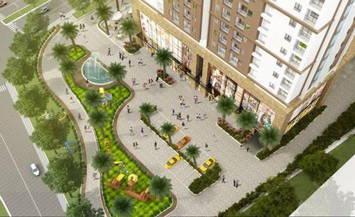 Quảng trường dự án Tứ Hiệp Plaza