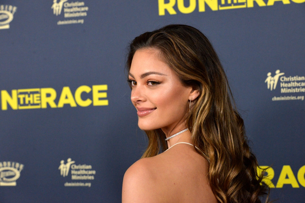 """Demi-Leigh Nel-Peters attends the premiere of Roadside Attractions' """"Run The Race"""" at the Egyptian Theatre on February 11, 2019 in Hollywood, California. (Photo by Michael Tullberg/Getty Images)"""