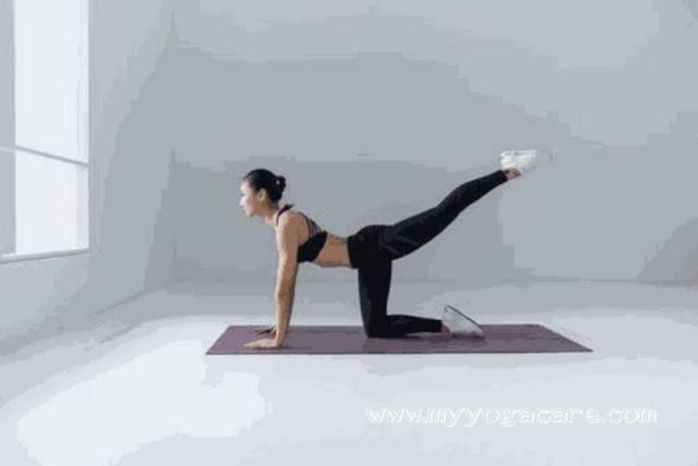 Virbhadrasana yoga