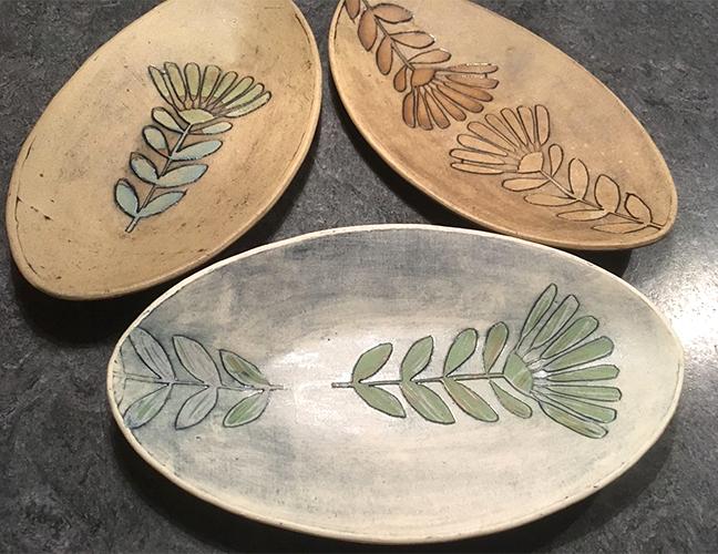 Keramik ©Hanne Dammeyer-Kierdorf, Muster ©muellerinart