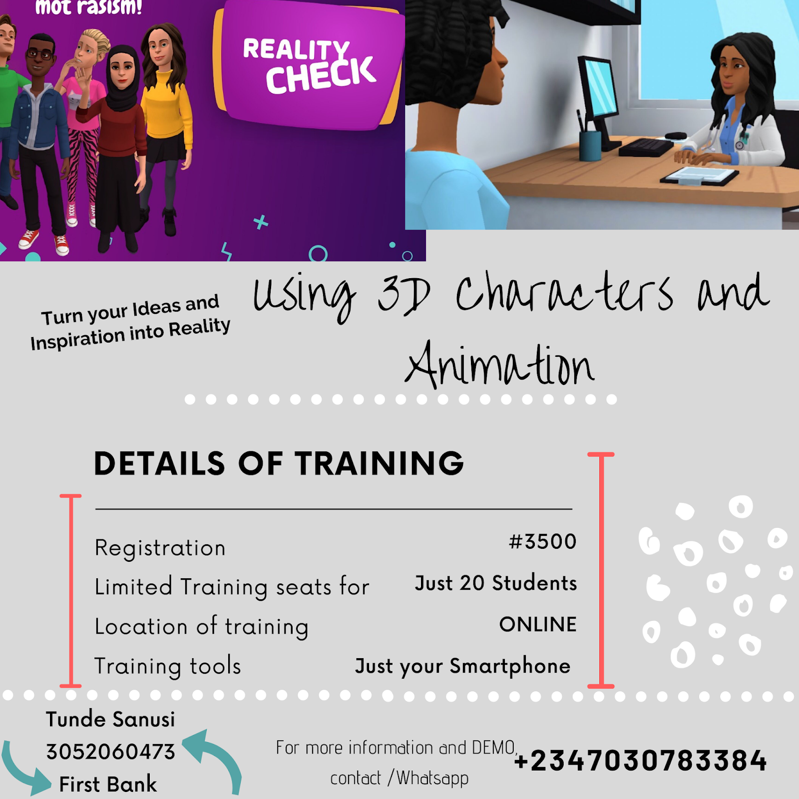 Create 3D Animation