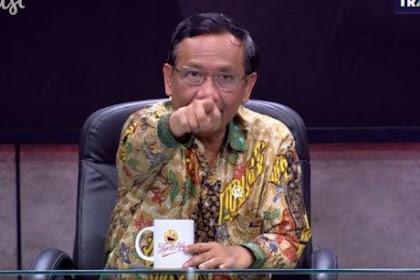 Ekspresi Mahfud MD Debat Najwa Shihab, Gagara Penanganan Hukum Era SBY Dianggap Lebih Baik