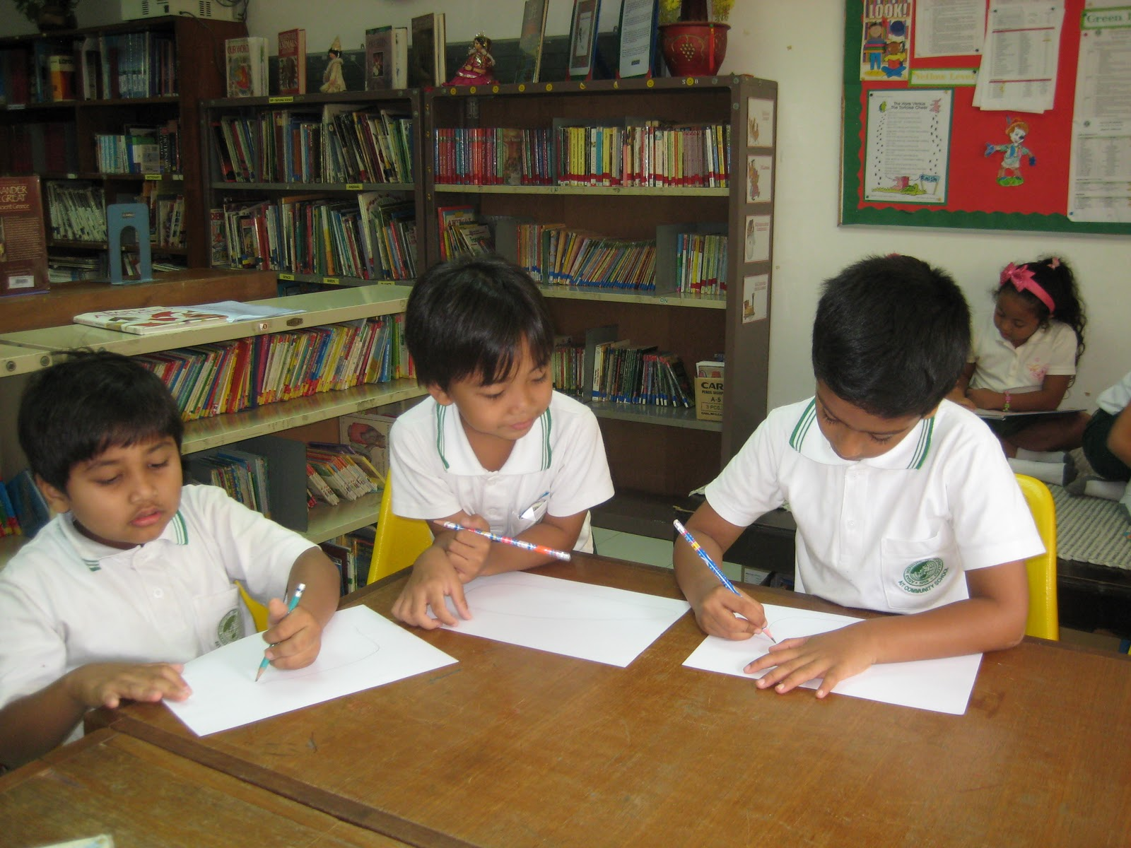 Ait International School Library Library Activities For Grade 1 Amp 2