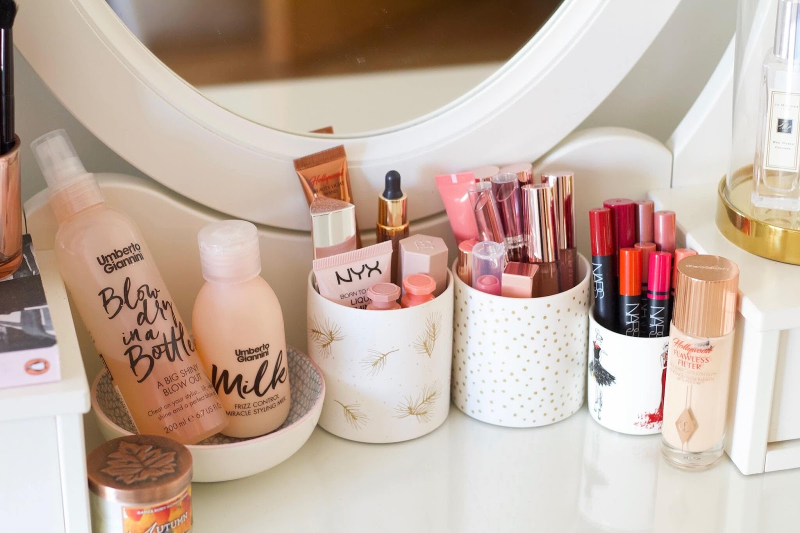Makeup storage tips