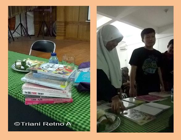 meet the author di SMA Al Bayan Sukabumi