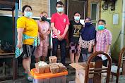 Rice Box PSI, Cahya Indra, Sapa dan Bantu Masyarakat