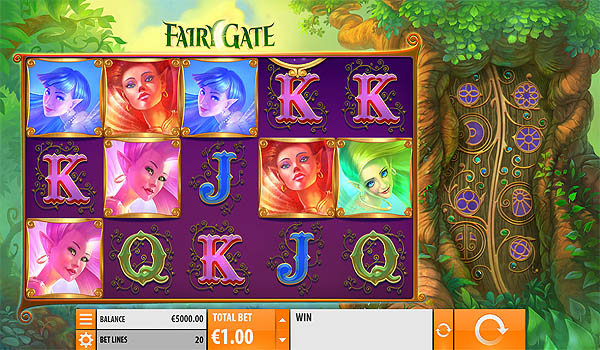 Main Slot Gratis Indonesia - Fairy Gate (Quickspin)