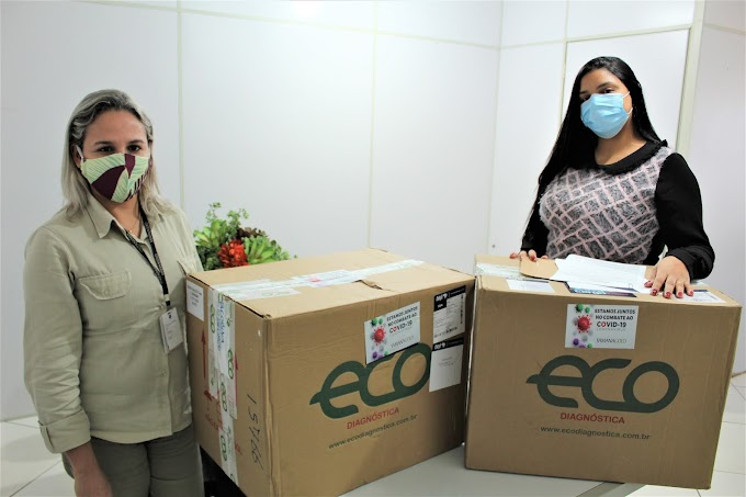 JMC doa mais mil testes rápidos de Covid-19 para a Prefeitura de Jacobina