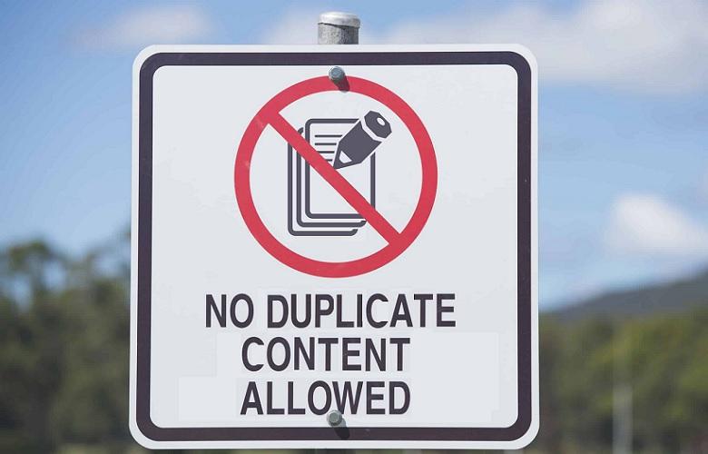 Remove Duplicate Content