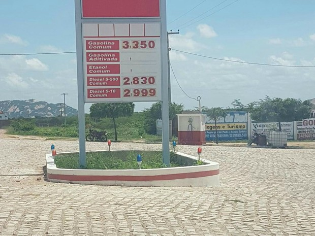 Concorrência derruba preço da gasolina em cidade do Oeste do RN