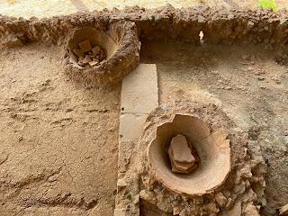 Varignano Roman Villa - where olive oil was stored