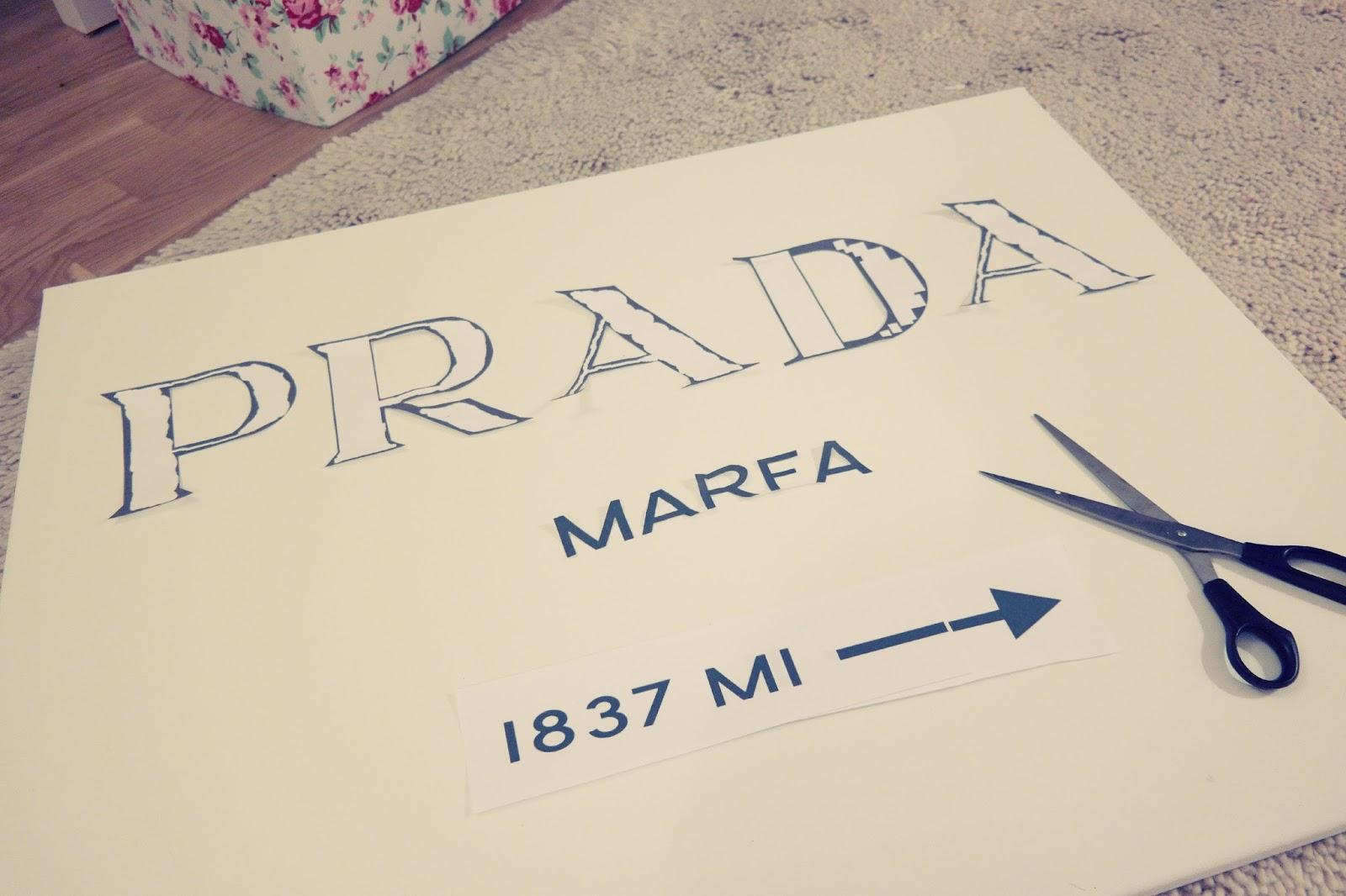 diy prada marfa bild by gossip girl selber machen tutorial neuer blog. Black Bedroom Furniture Sets. Home Design Ideas