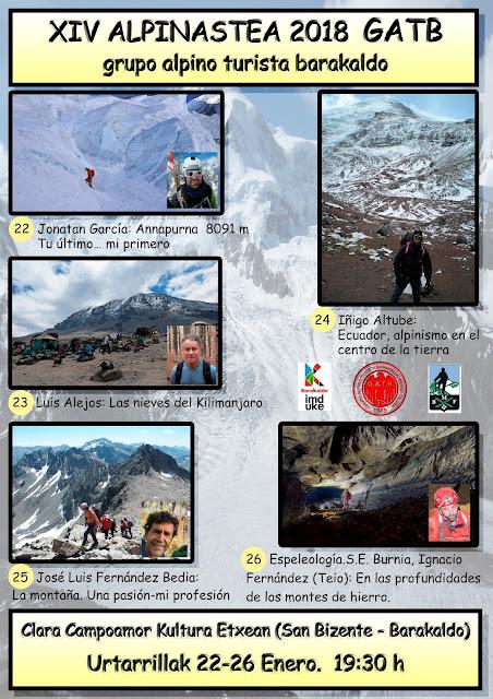 Semana de Montaña del Grupo Alpino Turista Barakaldo (GATB)